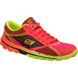 Women's Skechers GOrun 2 Pink/Green