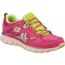 Women&#39;s Skechers Synergy Memory Sole Pink/Green