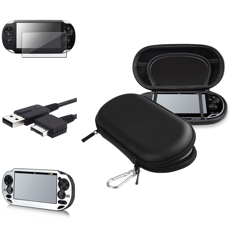 BasAcc Cases/ Screen Protector/ USB Cable for Sony PlayStation Vita
