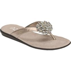 Women's A2 by Aerosoles Enchlosure Silver Metal