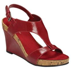 Women's A2 by Aerosoles Plush Above Red