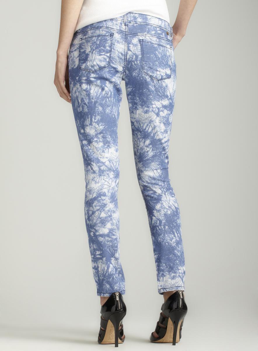 Almost Famous Tie dye print skinny jean