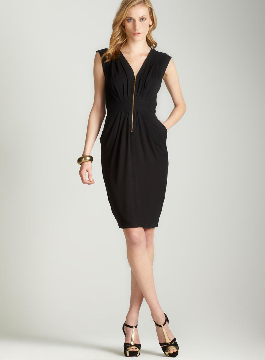 French Connection Viscose in vision dress