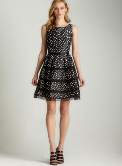 Taylor Dot party dress
