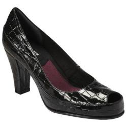 Women's A2 by Aerosoles Big Ben Black Croco