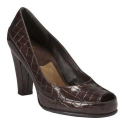 Women's A2 by Aerosoles Big Ben Brown Croco