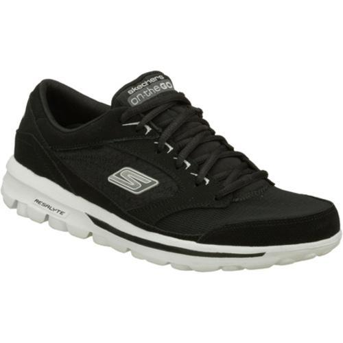 Men's Skechers On the GO Rookie Black/White