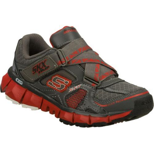 Boys' Skechers X 2.0 Wit Gray/Red