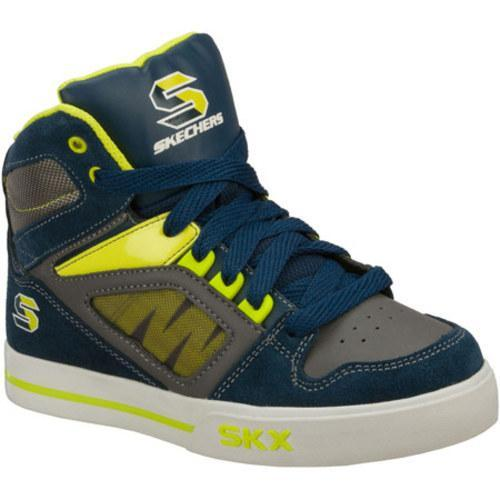 Boys' Skechers Yoke Navy/Yellow