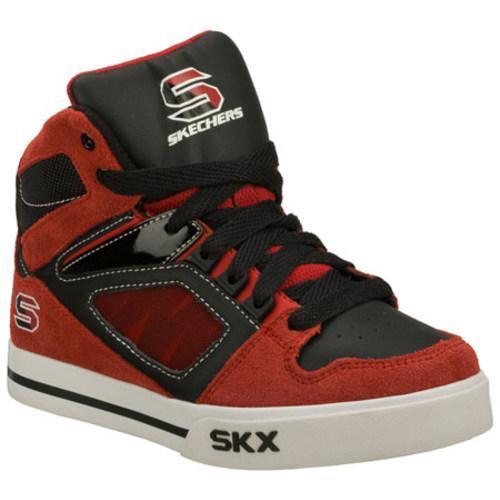 Boys' Skechers Yoke Red/Black