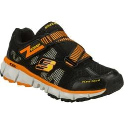 Boys' Skechers Extreme Flex 2.0 Black/Orange
