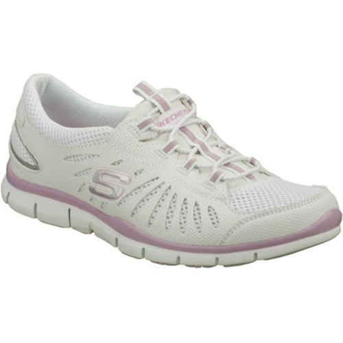 Women's Skechers Gratis Big Idea White/Purple