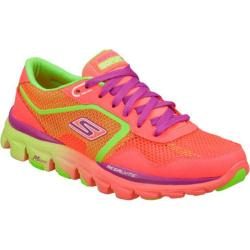 Women's Skechers GOrun Ride Ultra Pink/Green