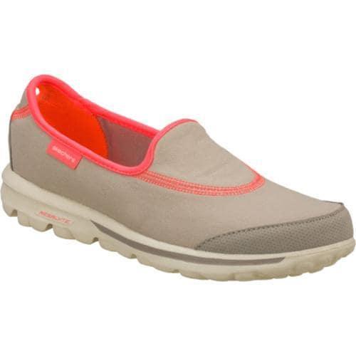Women's Skechers GOwalk Gray/Pink
