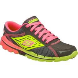 Women's Skechers GOrun 2 Gray/Green
