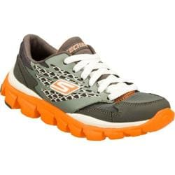 Boys&#39; Skechers GOrun Ride Gray/Orange