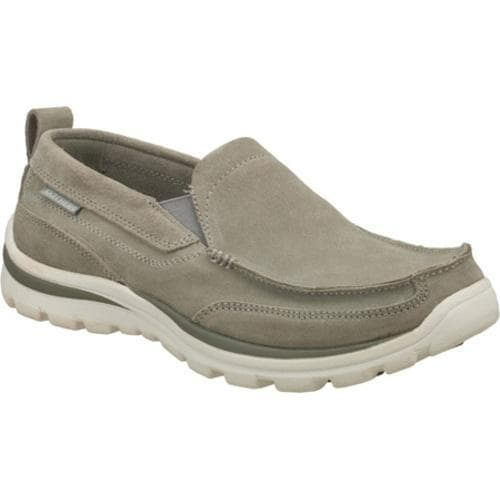 Men's Skechers Relaxed Fit Superior Pace Gray/Gray