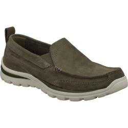 Men's Skechers Relaxed Fit Superior Pace Charcoal/Gray