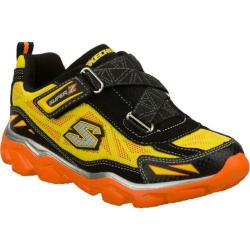 Boys' Skechers Serrated Lago Black/Yellow