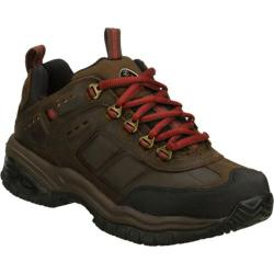 Men's Skechers Work Soft Stride Vigilant Brown