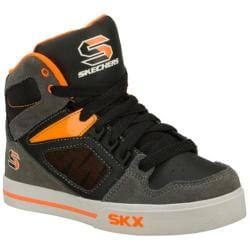Boys' Skechers Yoke Gray/Orange