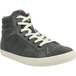 Men's Burnetie High Top BB Leather Charcoal