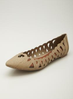 MIA Nomad Pointy Toe Flat Skimmer