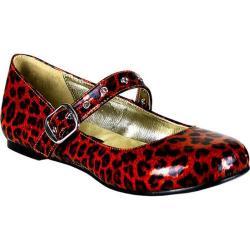 Women's Demonia Daisy 04 Red Pearlized Glitter Patent
