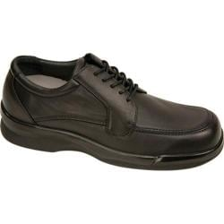 Men's Apex Ambulator Biomechanical Moc Toe Oxford Black Leather