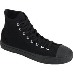 Men's Demonia Deviant 101 Black Canvas/Black