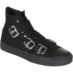 Men's Demonia Deviant 109 Black Canvas/Black