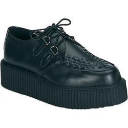 Men's Demonia Creeper 402 Black Leather