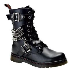 Men's Demonia Disorder 204 Black PU