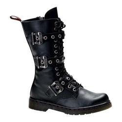 Men's Demonia Disorder 303 Black PU