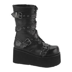 Men's Demonia Trashville 205 Black PU