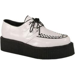 Men's Demonia V Creeper 502 White PU