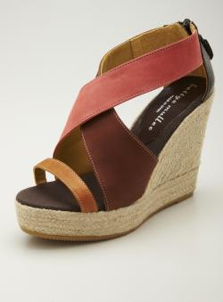 Bettye Muller Cannes Wedge Opentoe Sandal
