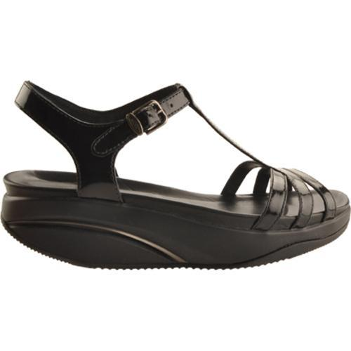 Women's MBT Sadiki Patent Black