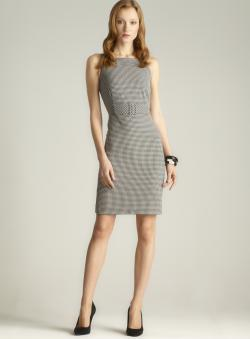 Calvin Klein Mini Check Dress