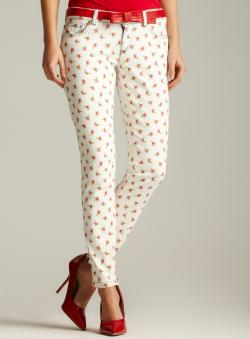D&G Printed Denim Pant