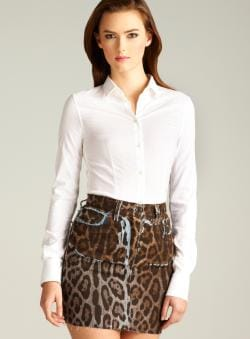 D&G Tailored Button Down Blouse