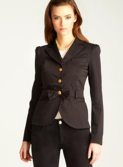 Love Moschino Gold Button Blazer