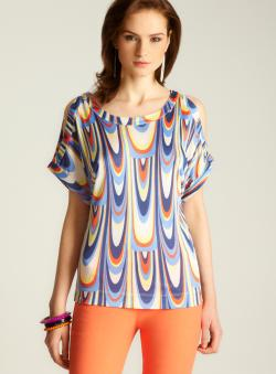 M Missoni Cold Shoulder Blouse