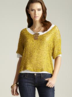 Robert Rodriguez Sequin Double Tee
