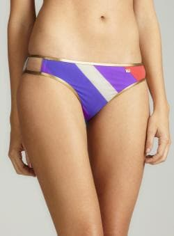 Marc By Marc Jacobs Merida Stripe Cut Out Bottom