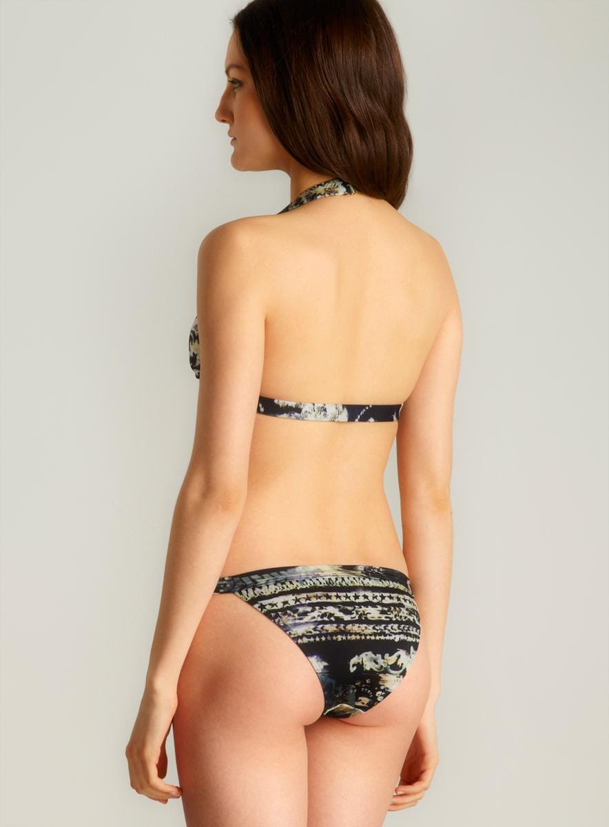 Balmain Printed Two-piece Bikini