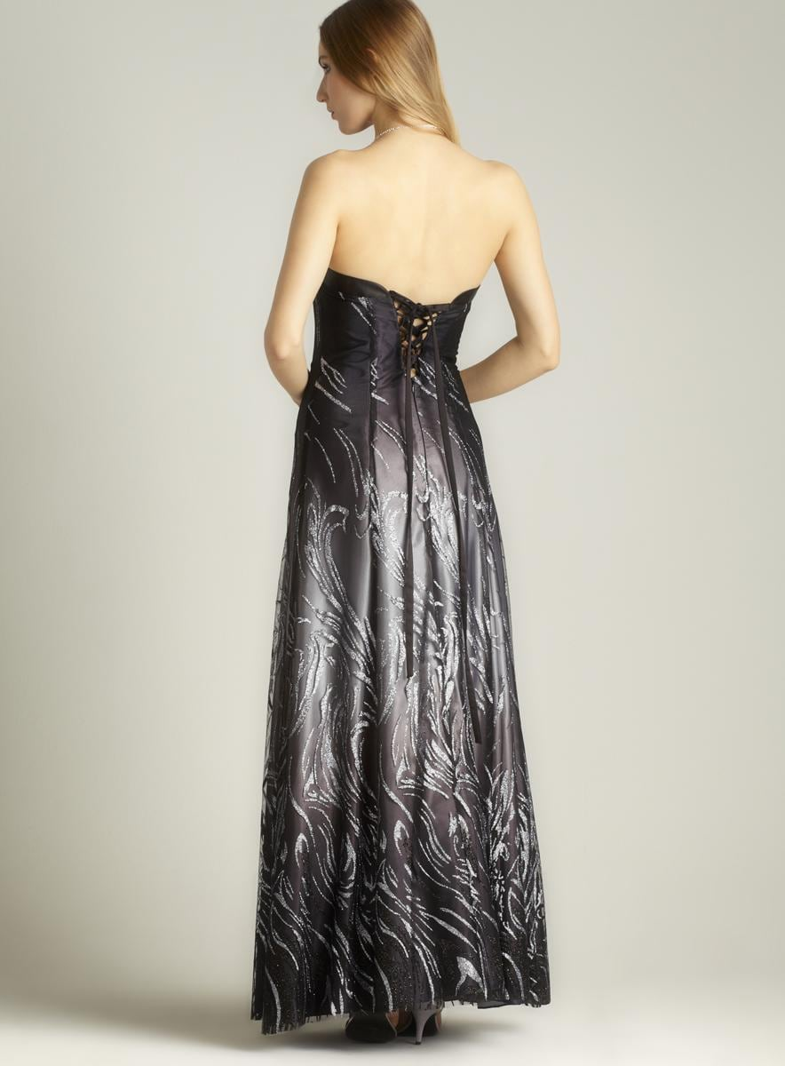 Glitter Ombre Gown