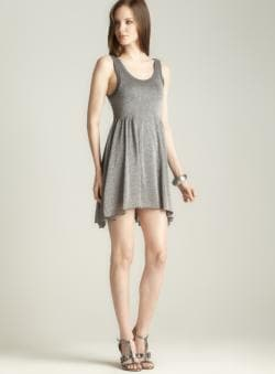 Free People Size L Shimmer Tank Dress