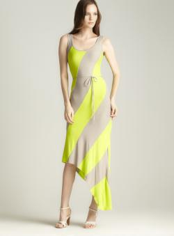 Moa Moa Asymmetrical Maxi Dress