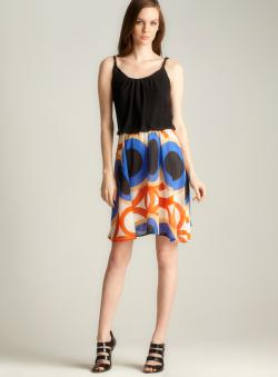 Romeo & Juliet Couture Printed Bottom Dress